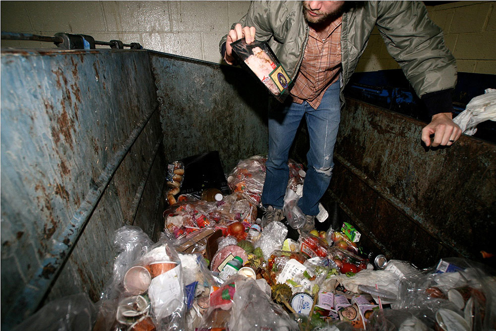 """dumpster diving and human race Malone started dumpster diving nine years ago, when he was working at  """"i  was learning as i went along and designing a kind of collection system  it is  contrary to one of the oldest inbred laws of humanity—the law of thrift."""