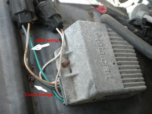 Ford E Series E E Fuse Box Passenger  partment together with Ign moreover Ford Focus Fuse Box Diagram further Electronic Ignition F in addition D Help Mustang Odd Wiring. on ford ignition coil wiring diagram