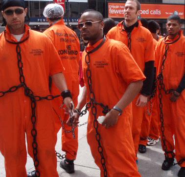 Image result for ORANGE JUMPSUIT PRISONER