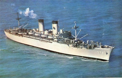 USNS Breckinridge - one to be avoided.  Take an extension if you have to so's to get a different troopship.  No shuttleboard on this one.