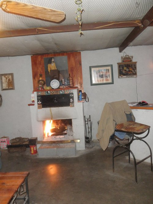La Cantina Fireplace