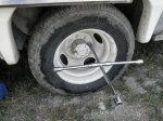 econoline rv tire and jack