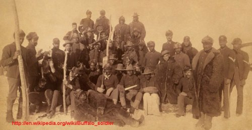 Buffalo soldeirs