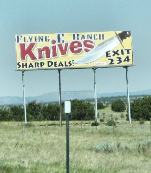 knives billboard