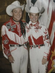 I'm not pushing the idea He was Roy Rogers, mainly because Roy was a fairly consistent, courteous human being, though daft.