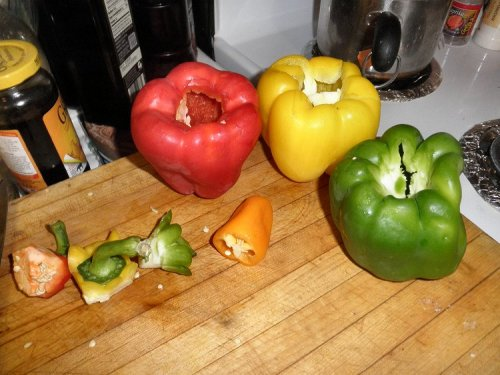 sweet pepper and bells