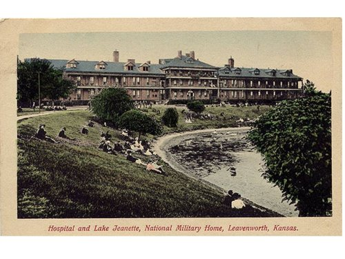 Original Hospital and Lake